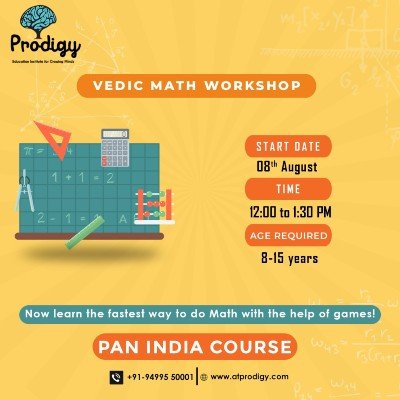 Free Vedic Math workshop