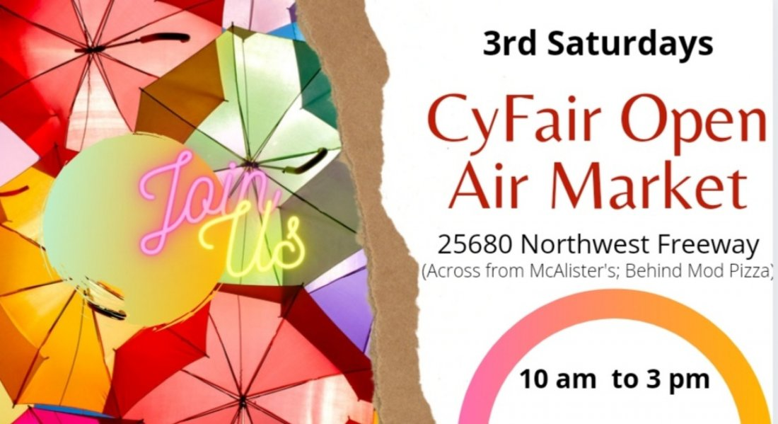 CyFair Open Air Market, 21 August | Event in Cypress | AllEvents.in