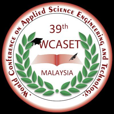 39th World Conference on Applied Science Engineering & Technology