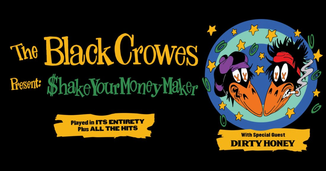 The Black Crowes - Shake Your Money Maker | Event in Gainesville | AllEvents.in