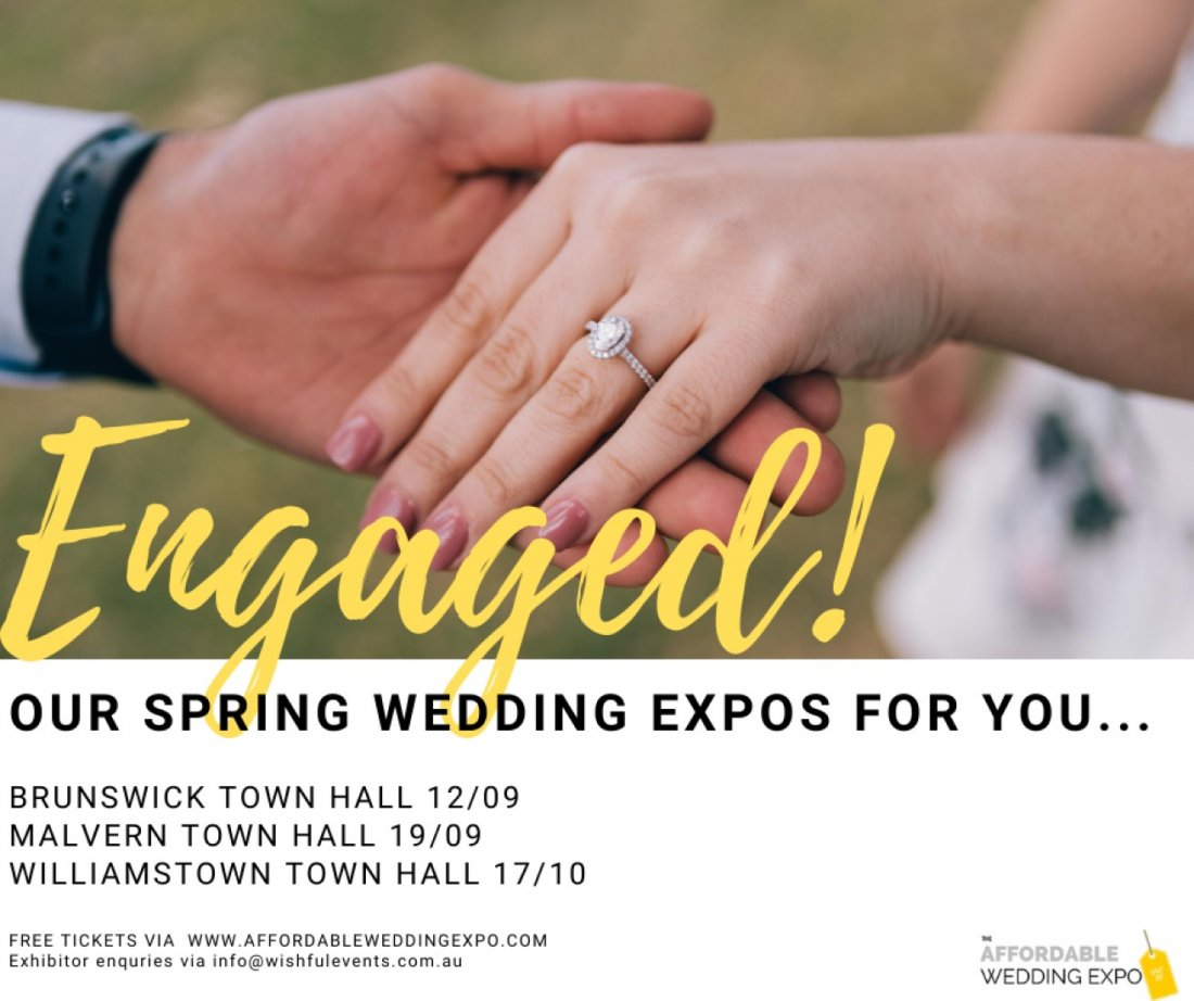 Affordable Wedding Expo - Williamstown, 17 October   Event in Melbourne   AllEvents.in