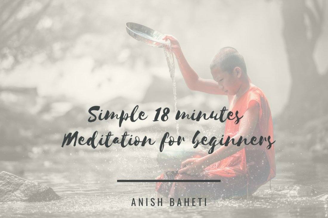 Simple 18 minutes Meditation for beginners (anytime, anywhere access) | Online Event | AllEvents.in