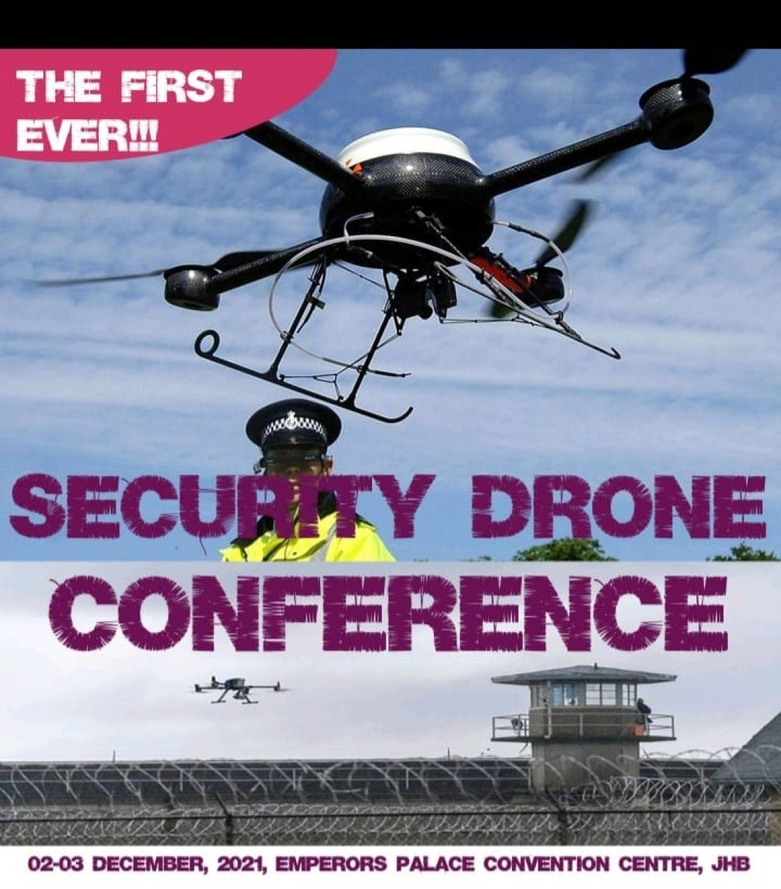 Security Drones Conference, 2 December   Event in Edenvale   AllEvents.in
