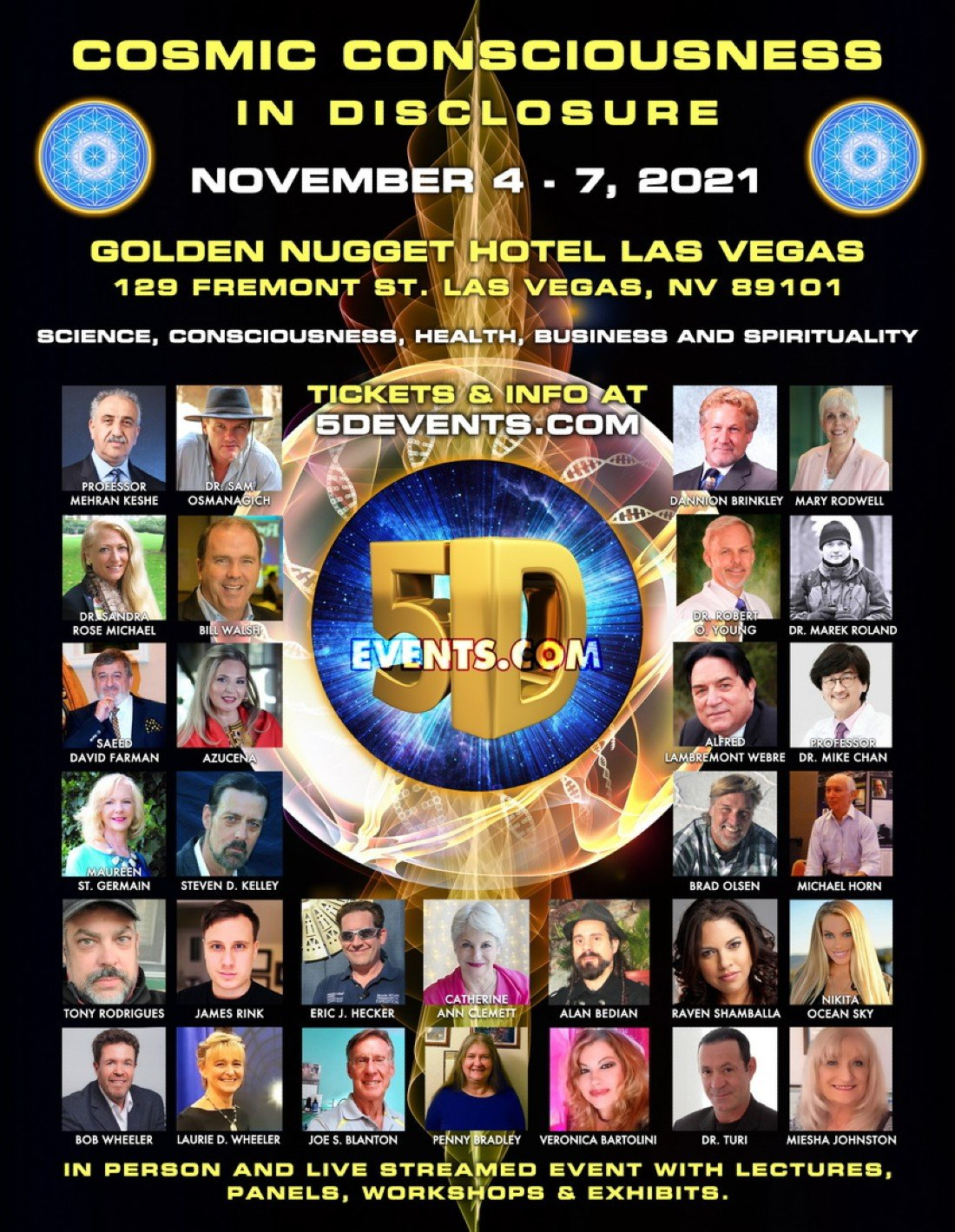COSMIC CONSCIOUSNESS IN DISCLOSURE, 4 November | Event in Las Vegas | AllEvents.in