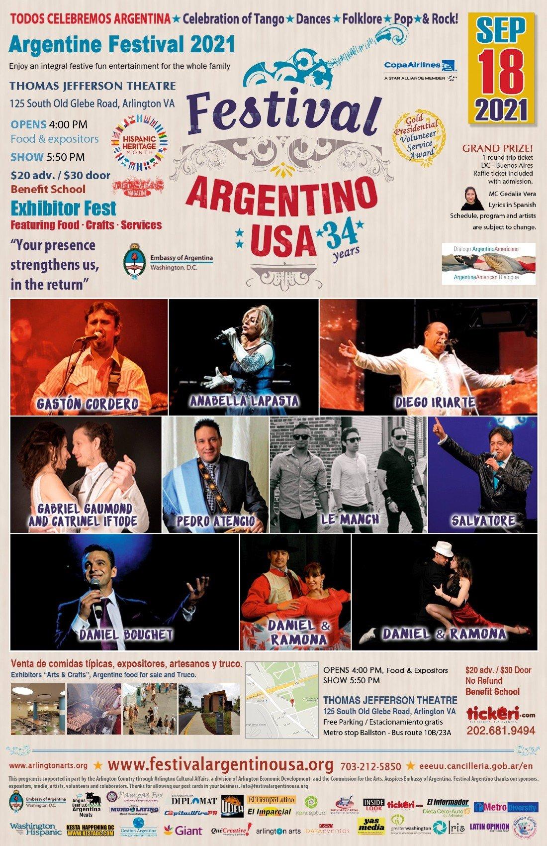 Festival Argentino USA | Event in Arlington | AllEvents.in
