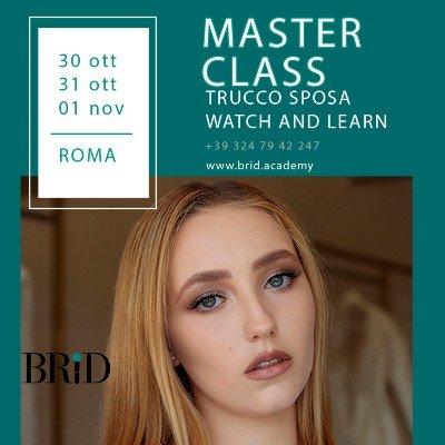 Masterclass Trucco Sposa Roma