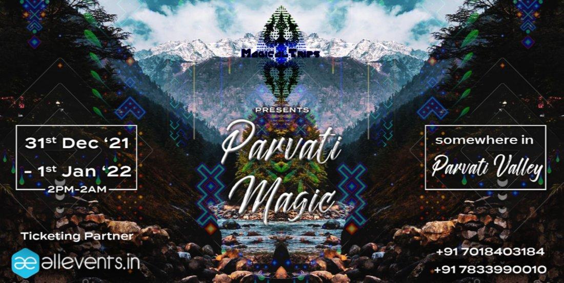 Parvati Magic (Psytrance) , 31 December | Event in Kasol | AllEvents.in