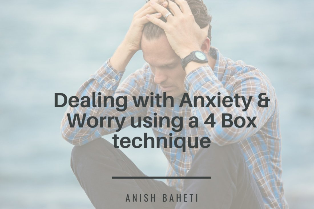 Dealing with Anxiety & Worry using a 4 Box technique (anytime, anywhere access) | Online Event | AllEvents.in