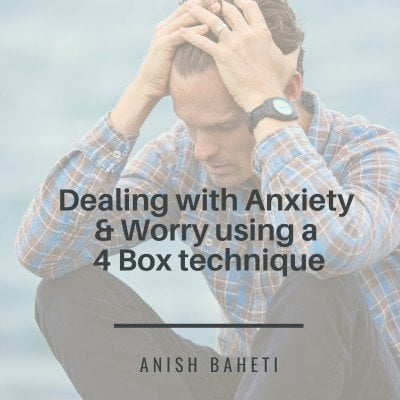 Dealing with Anxiety & Worry using a 4 Box technique (anytime anywhere access)