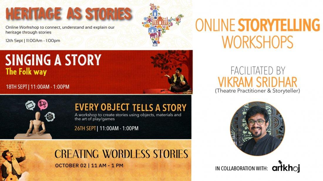 Online Storytelling Workshops | Online Event | AllEvents.in