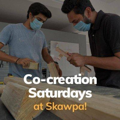 Co-creation Saturdays at Skawpa