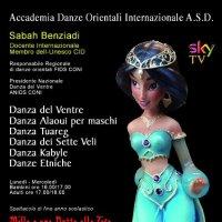 Corso danza del ventre a Palermo e Cinema
