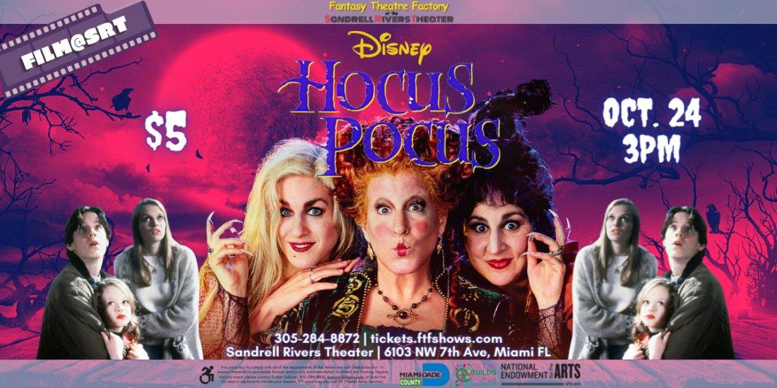 FILM@SRT: Hocus Pocus, 24 October | Event in Miami | AllEvents.in