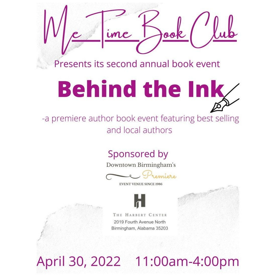 Behind the Ink, 30 April | Event in Birmingham | AllEvents.in