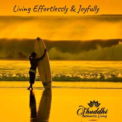 Living Effortlessly & Joyfully  Talks & Meditations