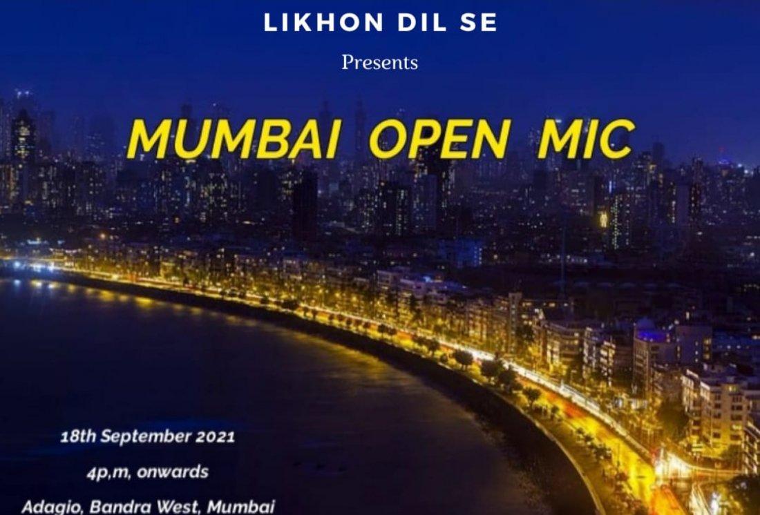 MUMBAI OPEN MIC, 18 September | Event in Mumbai | AllEvents.in