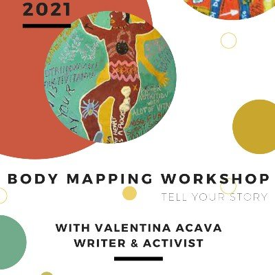 BODY MAPPING. A Storytelling workshop