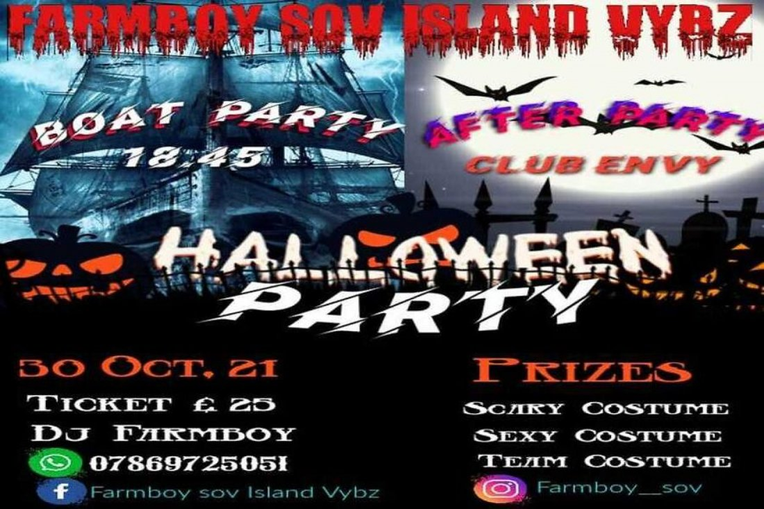 HALLOWEEN BOAT PARTY  & AFTER PARTY , 30 October | Event in Plymouth | AllEvents.in