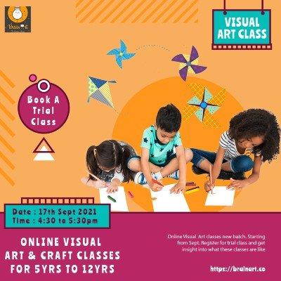 Visual Art classes for kids- Register Trial