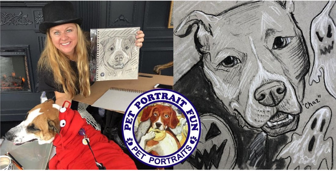 Halloween Dog Party  with Pet Portrait Fun Live Sketching | Event in New York | AllEvents.in