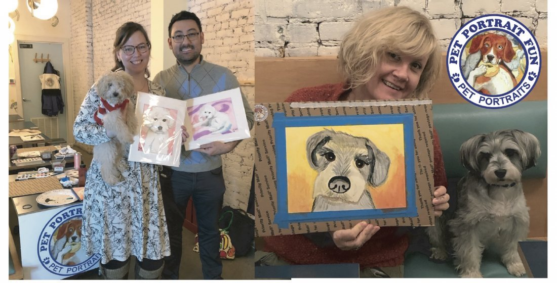 Paint Your Pet Portrait... at Boris & Horton Dogs Welcome!, 5 November | Event in New York City | AllEvents.in