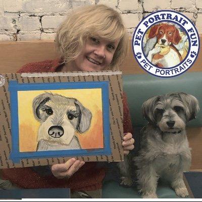 Paint Your Pet Portrait... at Boris & Horton Dogs Welcome
