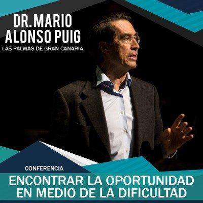 EL DR. MARIO ALONSO PUIG EN GRAN CANARIA