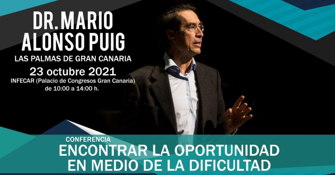 EL DR. MARIO ALONSO PUIG EN GRAN CANARIA, 23 October | Event in Las Palmas de Gran Canaria | AllEvents.in