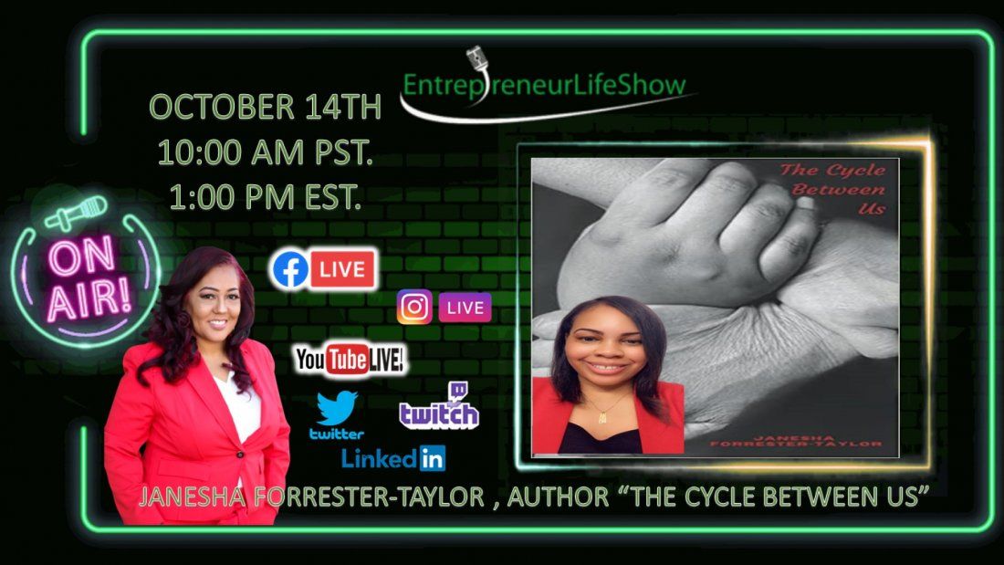 JANESHA FORRESTER-TAYLOR, AUTHOR 'A CYCLE BETWEEN US' | Online Event | AllEvents.in
