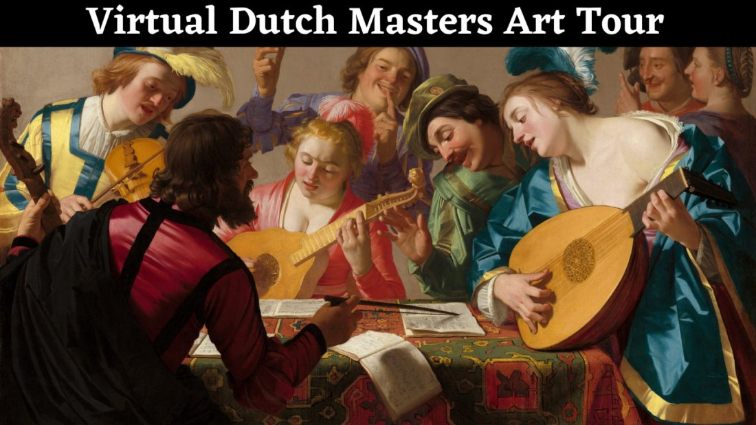 Virtual Dutch Masters Art Tour, 22 October   Online Event   AllEvents.in