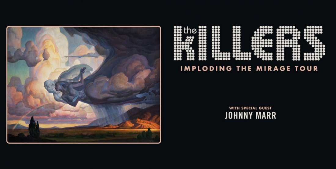The Killers Imploding The Mirage Tour, 23 August | Event in San Francisco | AllEvents.in