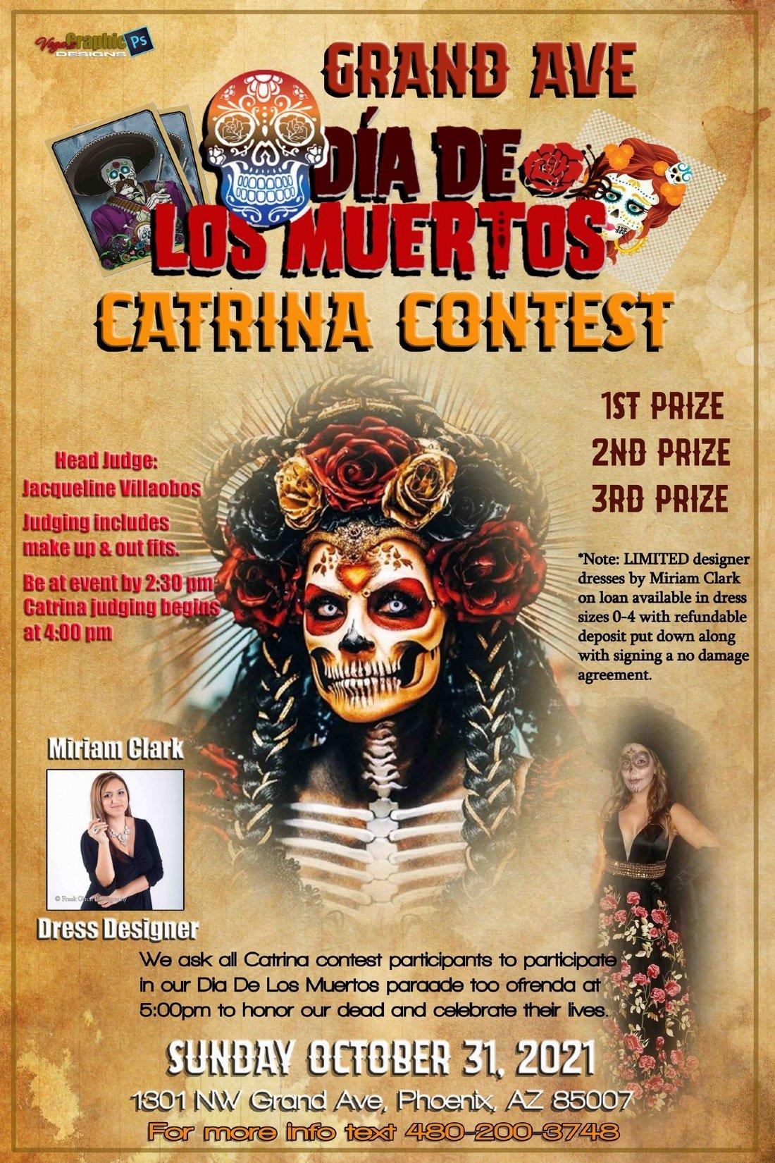 Dia De Los Muertos Catrina Contest, 31 October   Event in Phoenix   AllEvents.in