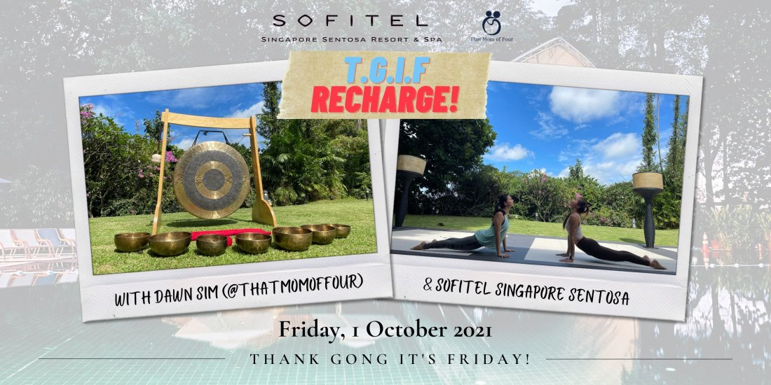 Mid-week Recharge with Dawn Sim & Sofitel Singapore Sentosa!, 3 November   Event in Singapore   AllEvents.in