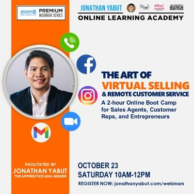 The Art of Virtual Selling and Remote Customer Service Boot Camp by Jonathan Yabut (USD)