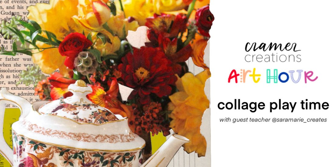 Art Hour: Collage Play Time, 14 November   Online Event   AllEvents.in
