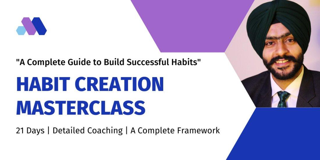 Habit Creation Masterclass  | Online Event | AllEvents.in