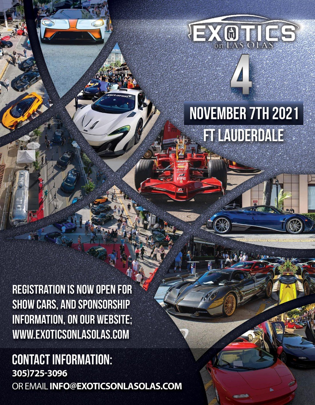 Exotics on Las Olas 4 Car Show Fort Lauderdale, 7 November   Event in Fort Lauderdale   AllEvents.in