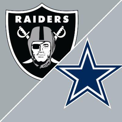 Las Vegas Raiders vs Dallas Cowboys