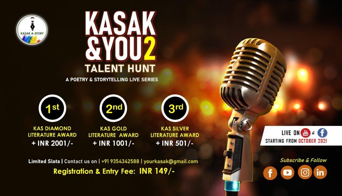Kasak & You   Session - II, 16 October   Online Event   AllEvents.in