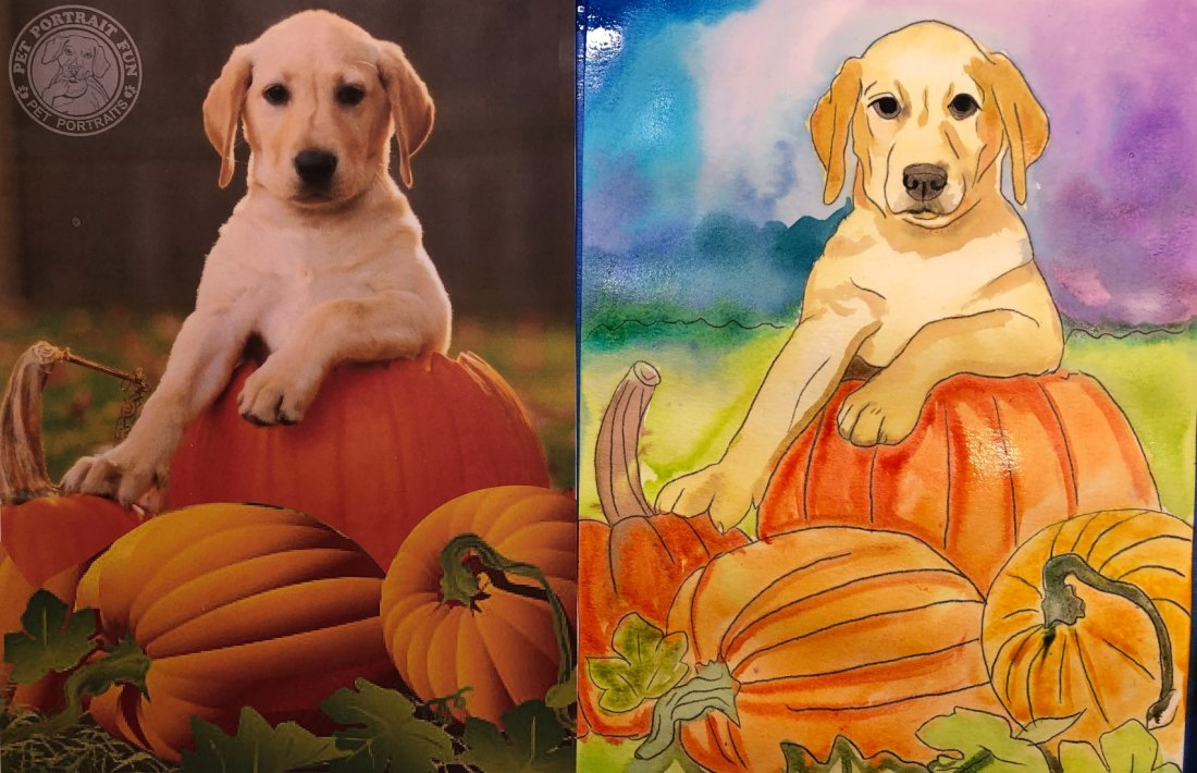 Paint a Pup on Pumpkin Patch - Online, 19 October | Online Event | AllEvents.in