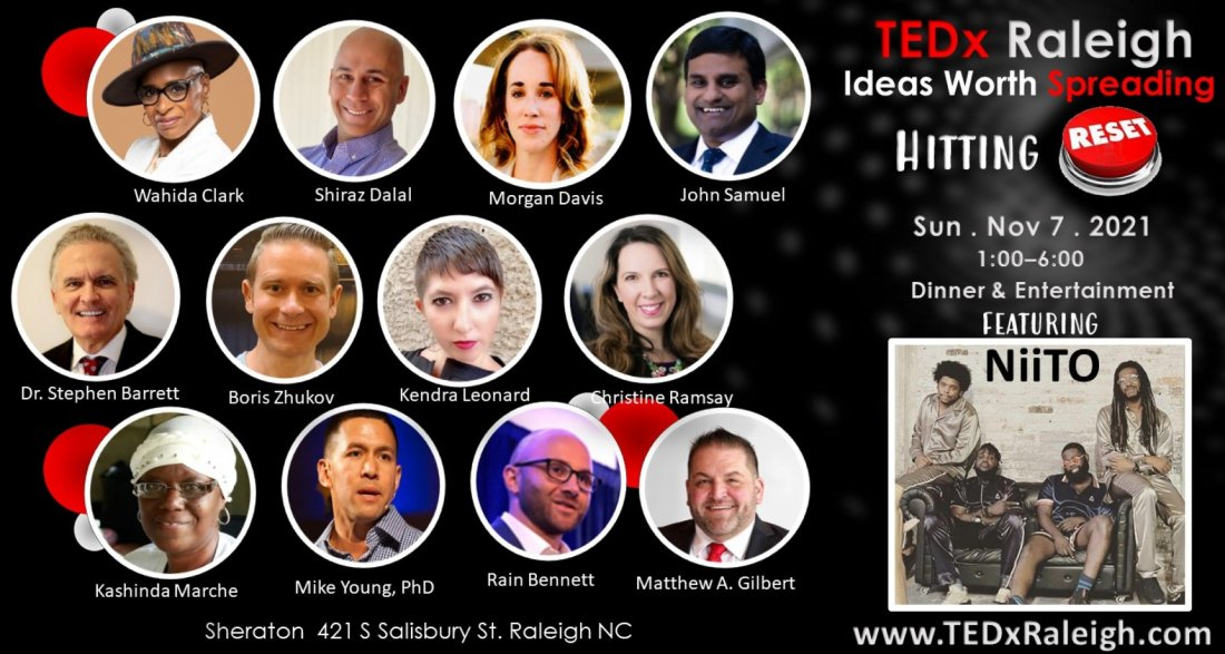 TEDx Raleigh 2021, 7 November | Event in Raleigh | AllEvents.in