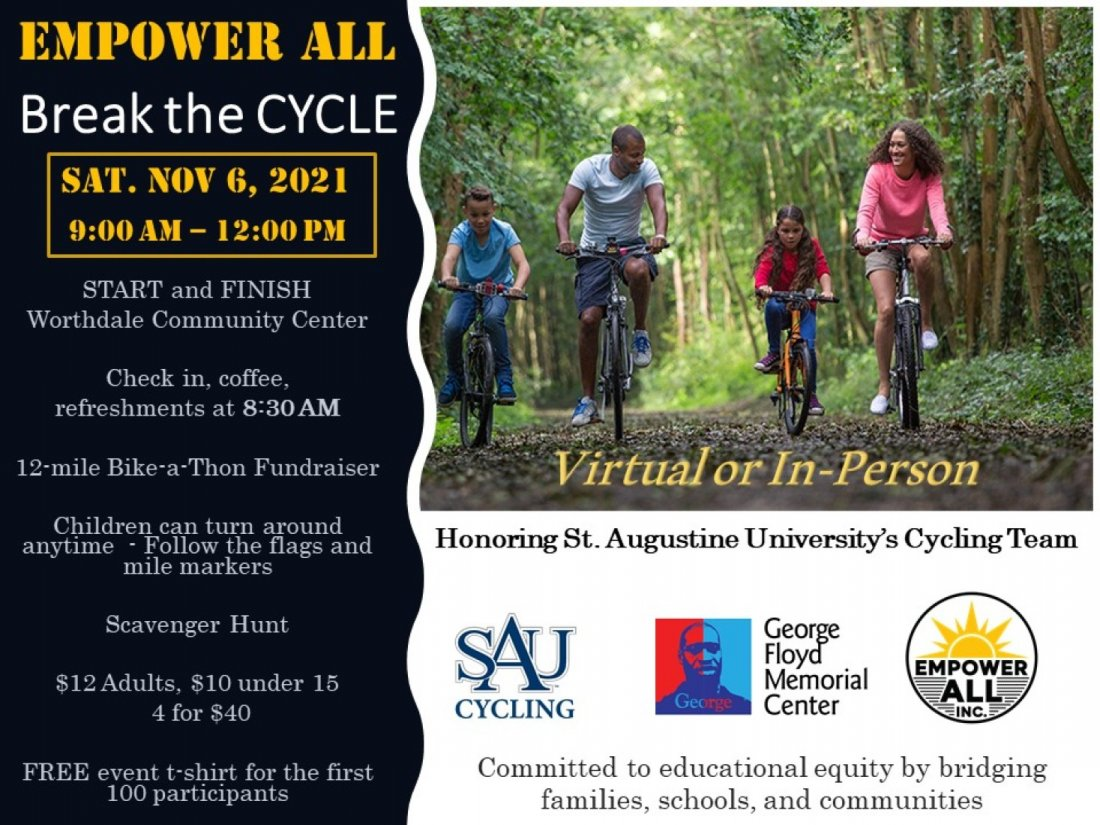 Break the Cycle! Empower All!, 6 November | Event in Raleigh | AllEvents.in