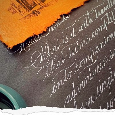 Introduction to Spencerian calligraphy