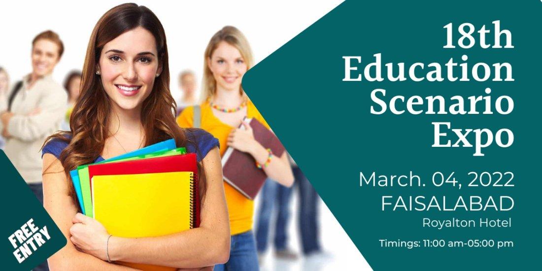 18th Education Scenario Expo, 4 March   Event in Faisalabad   AllEvents.in