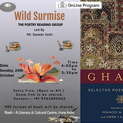Wild Surmise  OnLine The Poetry Reading Group