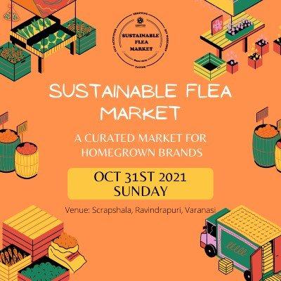 Sustainable flea market by Scrapshala