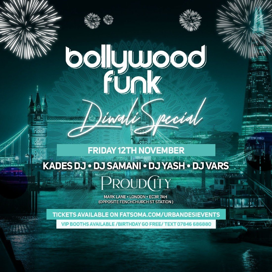 Bollywood Funk k, 12 November | Event in London | AllEvents.in