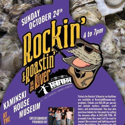 Rockin & Roastin on the River at the Kaminski House Museum