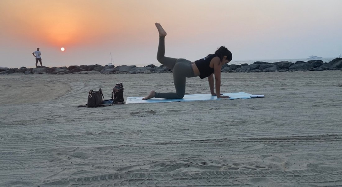 Sunset yoga at the beach | Event in Dubai | AllEvents.in