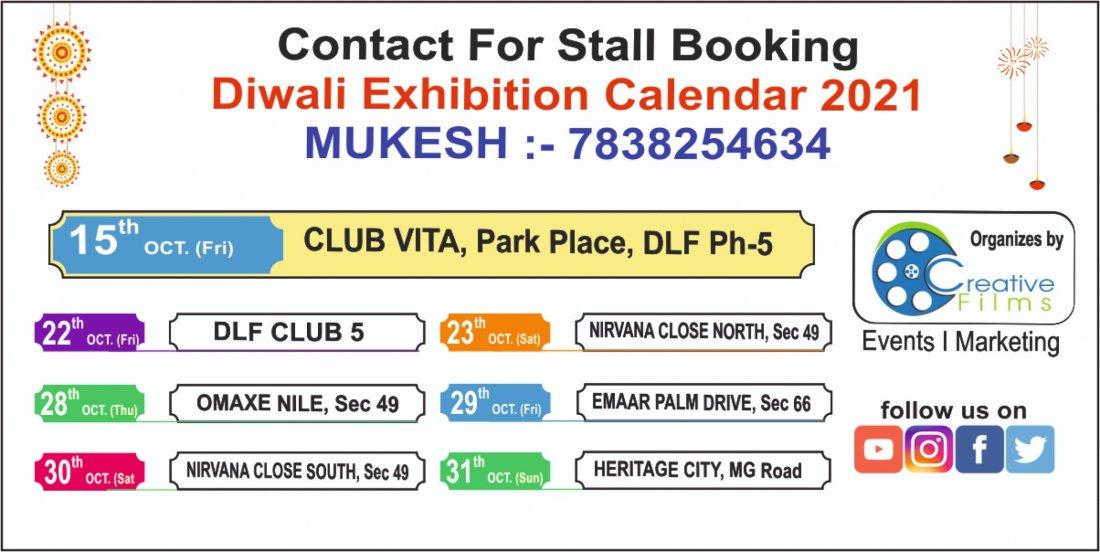Dandiya Nights - Dussehra - Diwali Mela With Lifestyle Exhibitions | Event in Gurgaon | AllEvents.in